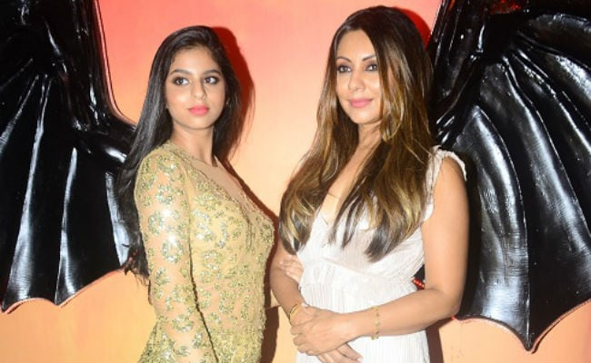 Suhana Khan Was The Star Of Mom Gauri's Party, Again. Pics Here