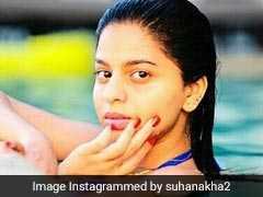 स्वीमिंग पूल में शाहरुख खान की बेटी सुहाना का यह फोटो इंटरनेट पर हो रहा है Viral