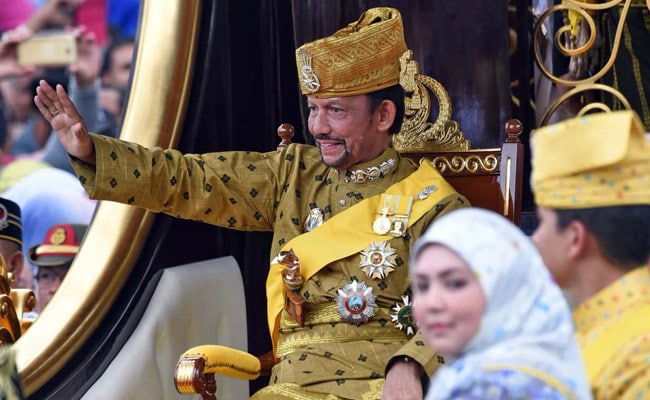 Sultan Of Brunei Marks Golden Jubilee In Style