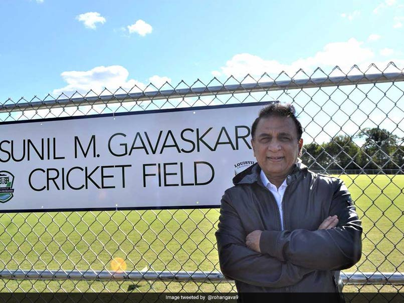Cricket Ground In The United States Named After Sunil Gavaskar