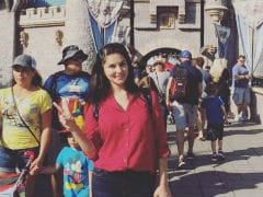 Sunny Leone Celebrates Daughter Nisha's Birthday In Disneyland