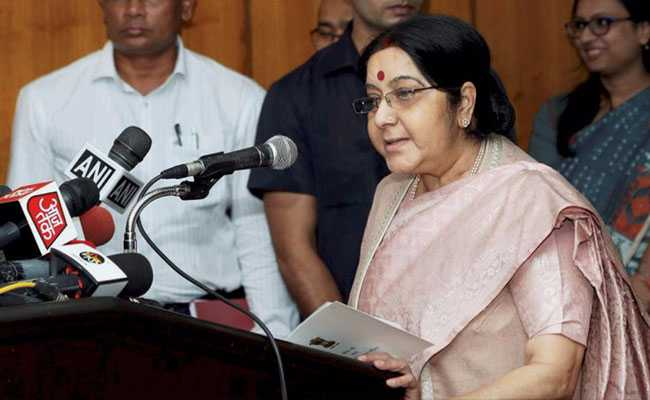 India Follows UN Sanctions, Not US Sanctions On Iran: Sushma Swaraj