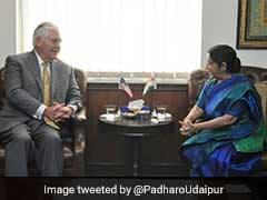 आतंकवाद के खिलाफ भारत के साथ कंधा से कंधा मिलाकर खड़ा रहेगा अमेरिका :  विदेश मंत्री रेक्स टिलरसन