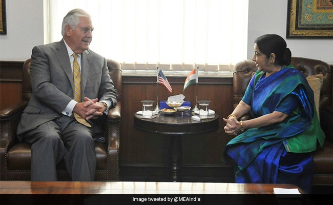 संपर्क माध्यम के रूप में काम कर सकते हैं भारत-उत्तर कोरिया के संबंध : टिलरसन
