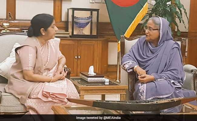 India And Bangladesh Resolve To Fight Challenge Of Terrorism Together