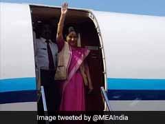 Sushma Swaraj Arrives In Bangladesh, Will Review Bilateral Ties