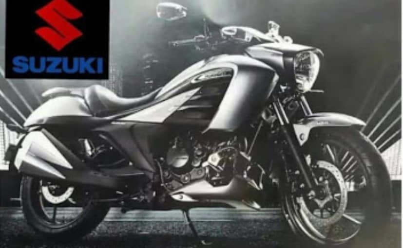 Japanese two-wheeler manufacturer Suzuki launched cruiser motorcycle