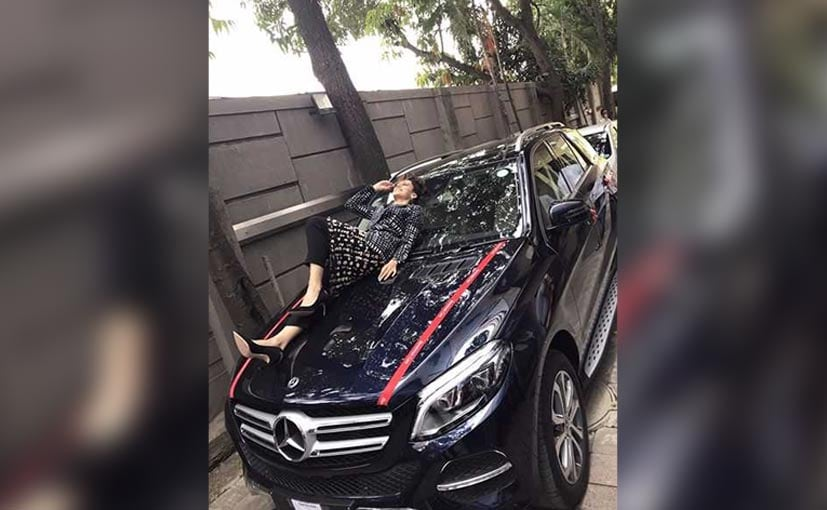 taapsee pannu mercedes benz gle