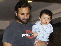 At Soha Ali Khan's Birthday, A Father-Son Moment For Taimur And Saif