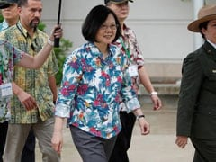 Taiwan President Tsai Ing-Wen Arrives In US Despite Chinese Objections
