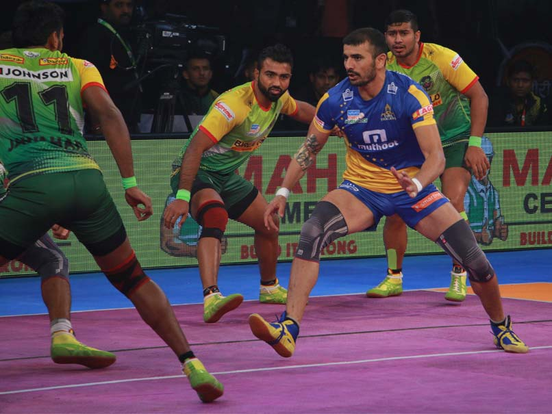 Pro Kabaddi League: Tamil Thalaivas Defeat Patna Pirates