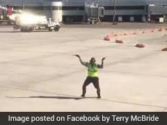 Airport Worker Spotted Dancing On Tarmac. 7 Million Views And Counting