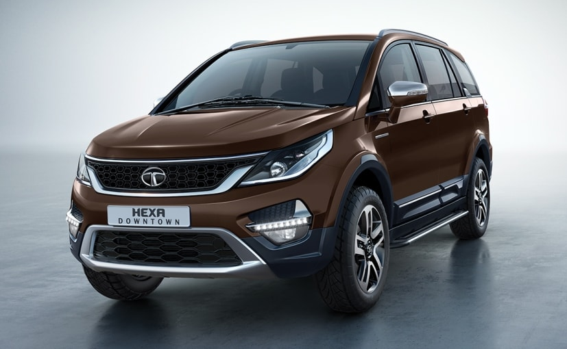 Tata Hexa Downtown Urban Edition package will be available for all the variants