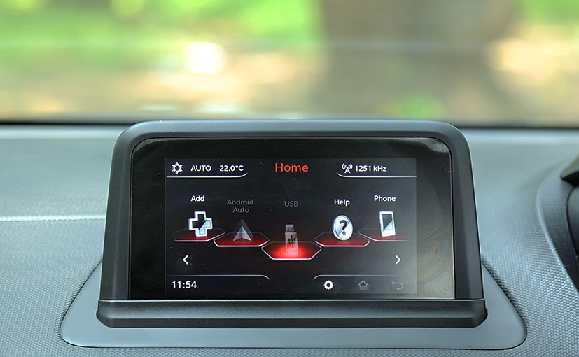 tata nexon infotainment screen