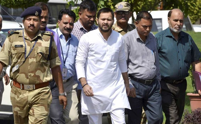 'Thank You Nitish Kumar': Tejashwi Yadav's Outburst As Father Is Jailed