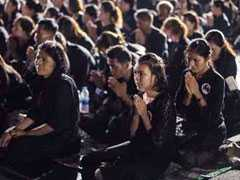 Tourists Bemused As Bangkok Sobers Up For Thai King Bhumibol Adyulej's Funeral