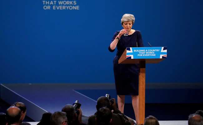 Divisions Over UK PM Theresa May's Future Burst Into Open With Plot To Topple Her