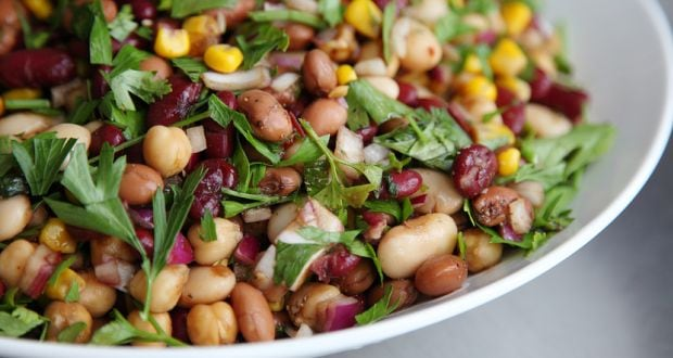 three bean chaat recipe