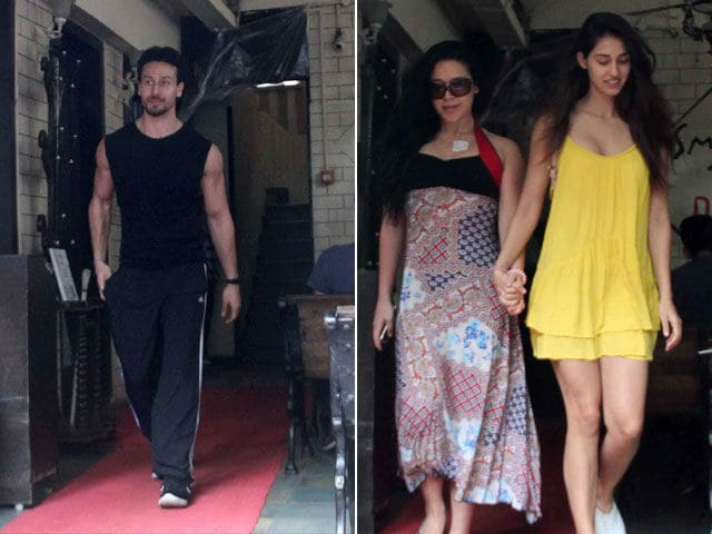 Pics: Tiger Shroff's Lunch With Rumoured Girlfriend Disha Patani, Sister Krishna