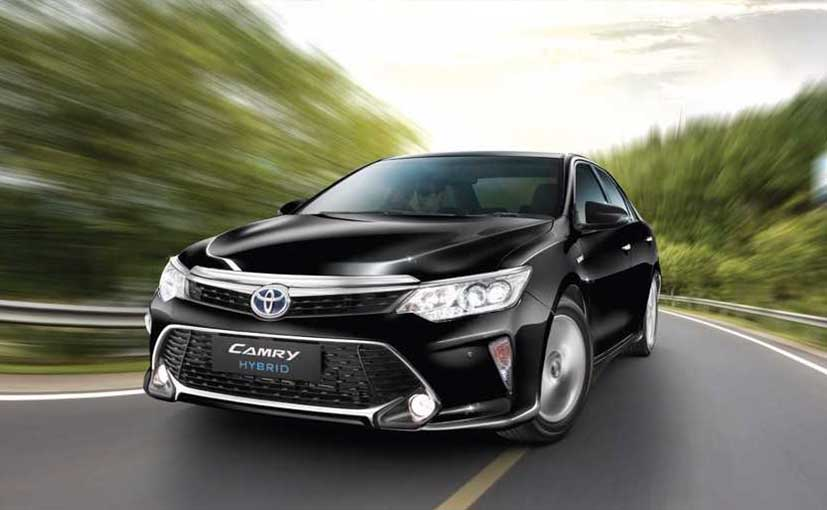 Toyota Camry Hybrid Production Stopped In India Here S Why
