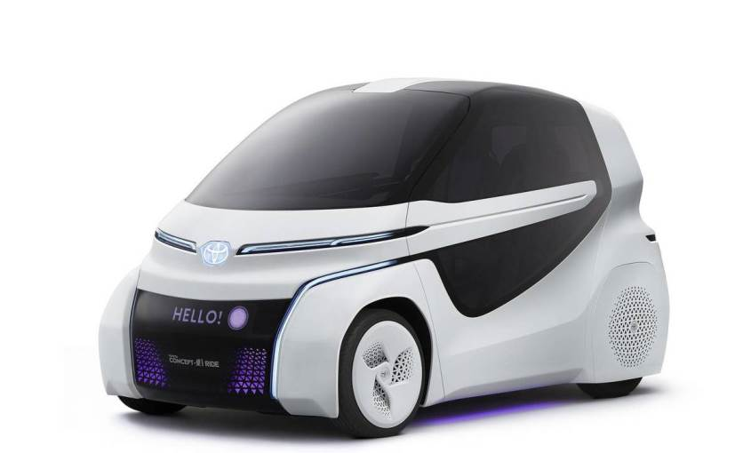 Toyota Fine-Comfort Ride concept is a fuel cell powered minivan