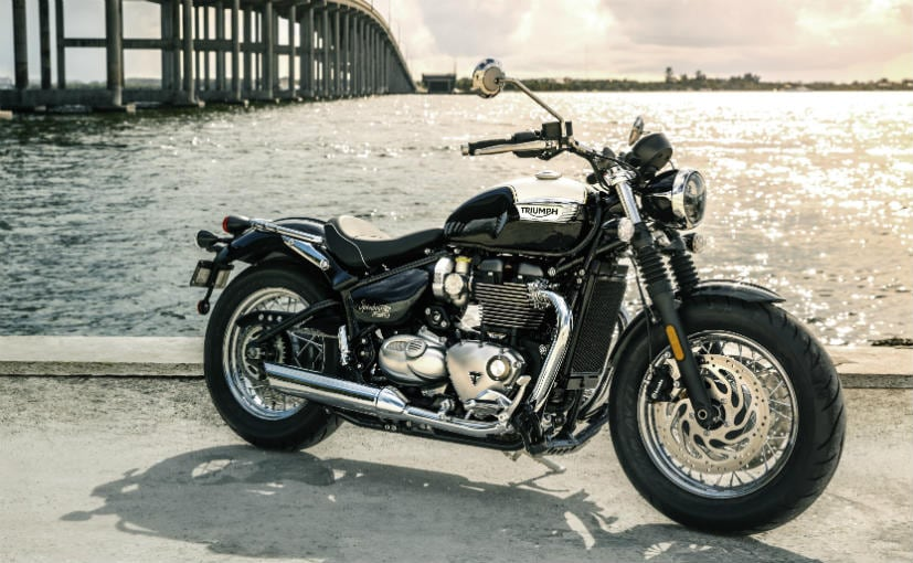 Triumph Bonneville Speedmaster India Launch Highlights Price