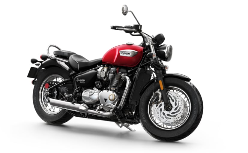 India Bike Week 2017: Triumph Bonneville Speedmaster To Be Unveiled