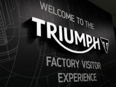 Triumph Motorcycles Inaugurates Factory Visitor Experience