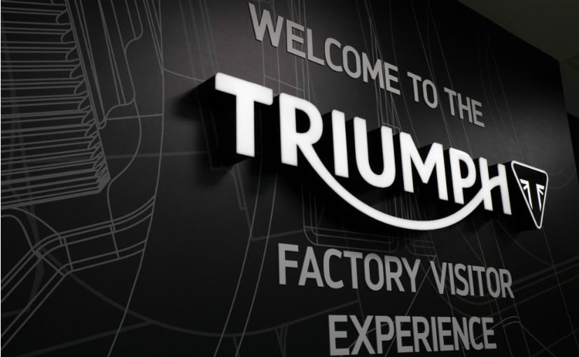 Prince William To Inaugurate Triumph's Factory Visitor Experience