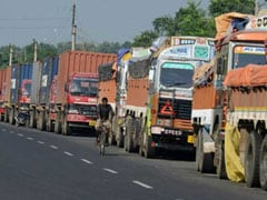 Truck Operators' Strike Affects Transportation Of Goods In Andhra Pradesh
