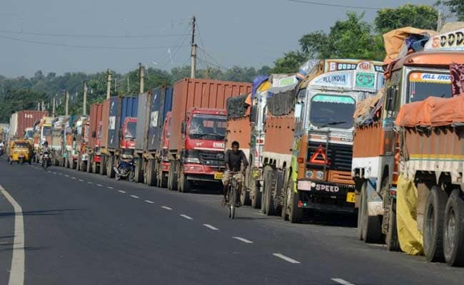 Prices May Be Hit As Truckers Start 2-Day Strike Demanding GST On Diesel