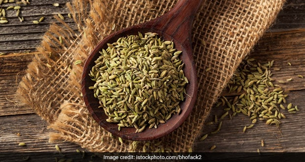 tulsi and fennel seeds