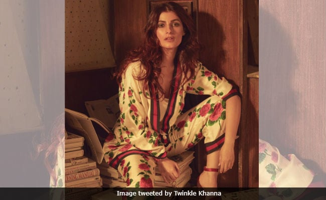 Twinkle Khanna, Trolled For Sitting On Books, Has A Message For The 'Easily Outraged'