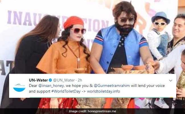 What're They Drinking?! UN Body Trolled After Tweeting Honeypreet
