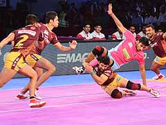 Pro Kabaddi League: UP Yoddha Crush Jaipur Pink Panthers