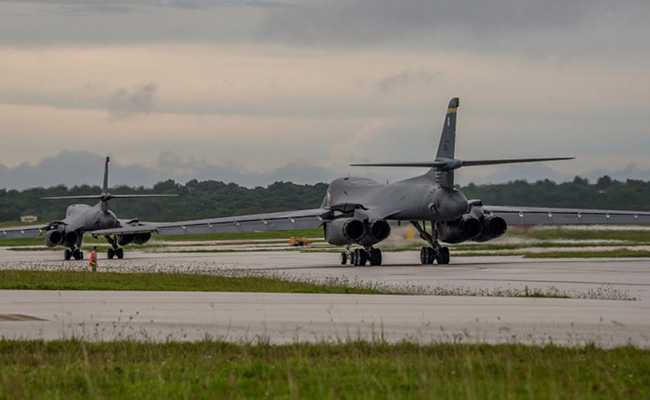 us b 1b bomber south korea drill reuters