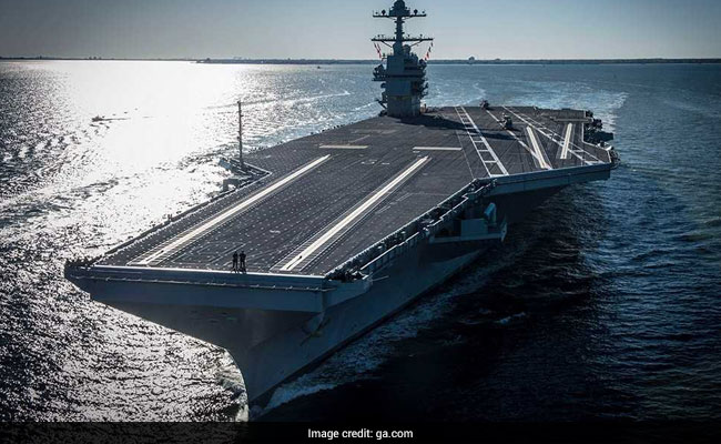 US Offers Advanced System To India For Its Future Aircraft Carrier