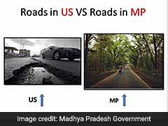 Shivraj Chouhan's Office Fights Ridicule With 'US Roads vs MP Roads' Pics