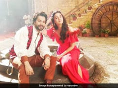 Varun Dhawan And Alia Bhatt Are Back Together On Sets. A Film? An Ad? Find Out Here