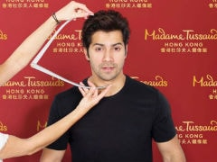 Varun Dhawan's Wax Figure Being Readied For Madame Tussauds Hong Kong