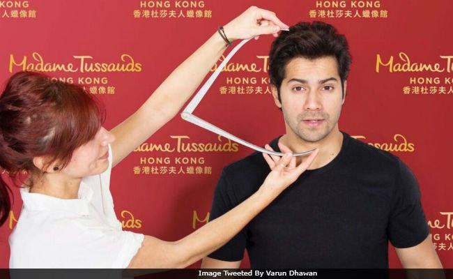 Varun Dhawan's Wax Figure Being Readied For Madame Tussauds Hong Kong