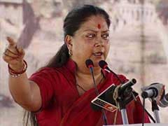 Rajasthan BJP Leader Asks Amit Shah To Remove Chief Minister Vasundhara Raje