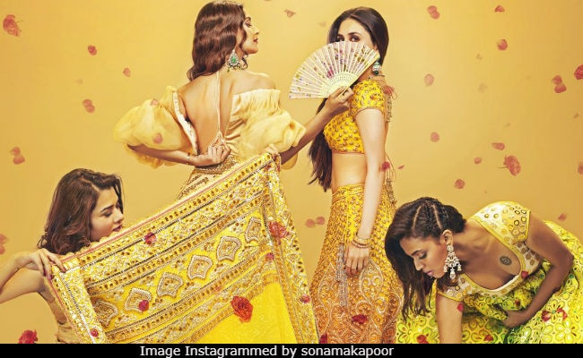 Veere Di Wedding First Poster: Sonam Kapoor, Kareena Kapoor And A Whole Lot Of Shaadi Bling