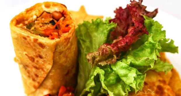 vegetarian burrito recipe