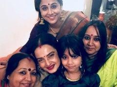 For Rekha, 'The Eternal Beauty,' A Beautiful Birthday Wish From Vidya Balan