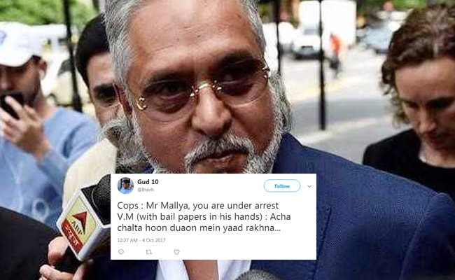 Vijay Mallya's Swift Bail (Once Again) Has Twitter Cracking Jokes