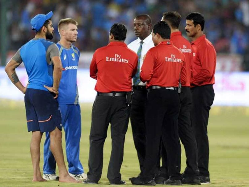 India vs Australia: Final T20I Match Called Off Due To A Wet Outfield