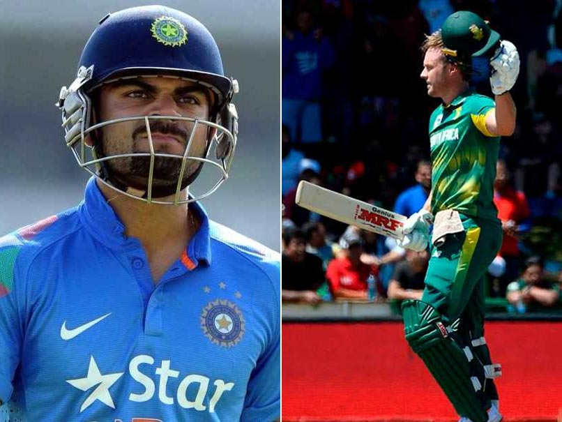 AB De Villiers Pips Virat Kohli To Become World No. 1 ODI Batsman