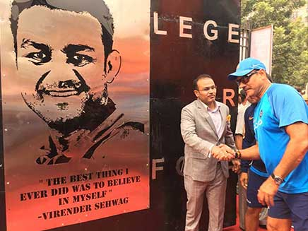 Virender Sehwag Honoured By DDCA With His Own Gate At Feroz Shah Kotla. But, A Big Problem