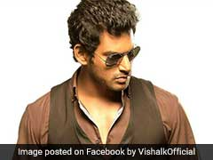 Taxmen Visit Actor Vishal, Who Slammed BJP Leader For Watching <i>Mersal</i> Online